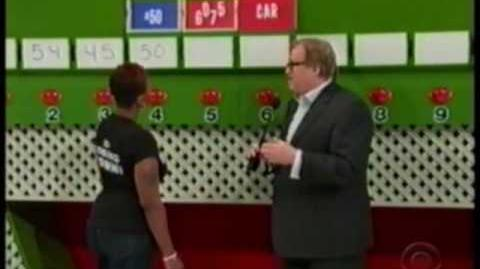 Dumb contestant dismal playing of Ten chances -- The Price is Right (Carey)