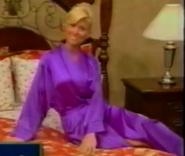Teri Harrison in Satin Sleepwear-35