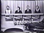 The Price is Right 1960's Conestant's row