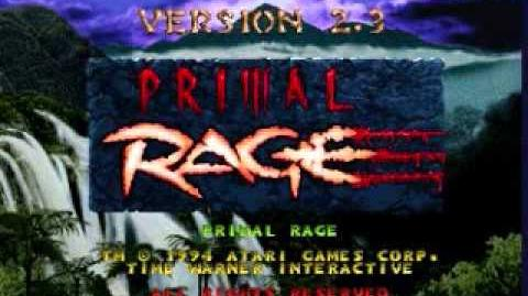 Primal Rage The Tomb Arcade Version