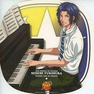 Yukimura on the piano