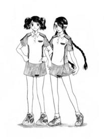 Girls' regular uniform