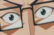 Inui's eyes