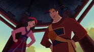 Shang & mulan in wedding outfits