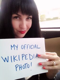 Grey DeLisle's Official Wikipedia Pic.