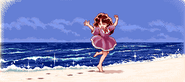 Beach spring age10