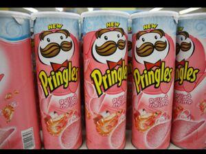 Pringles grilled shrimp