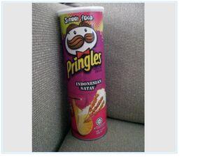 Pringles indonesian satay