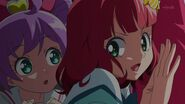 Eiko help Laala hiding from Gloria