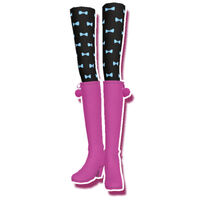 Pinkish Petit ribbon boots