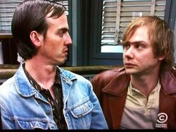 Jimmi Simpson and Nate Mooney