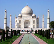 300px-Taj Mahal in March 2004