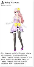 ProjectDivaF2nd FairyMacaron