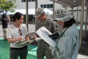 WHEN DISASTER STRIKES- U.S. ARMY SOLDIERS IN JAPAN OFFER EXPERTISE DURING SHIZOKA PREFECTURE COMPREHENSIVE DISASTER DRILL