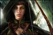 Green eyes by kk graphics-d4fb0bj