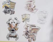 Kartos early concept designs