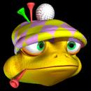 Golfer Frog