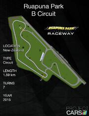 Ruapuna Park B Circuit