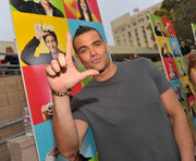 Mark salling as puck from glee l pose