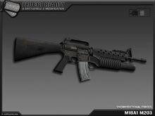 M16A1 M203