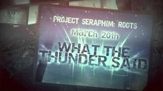What the Thunder Said (A Project SERAPHIM Prequel)