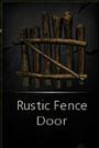 RusticFenceDoor
