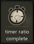 Timer ratio complete