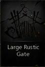 LargeRusticGate