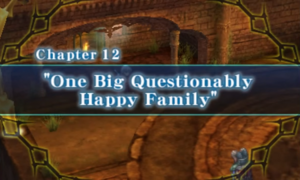 Chapter 12 - One Big Questionably Happy Family
