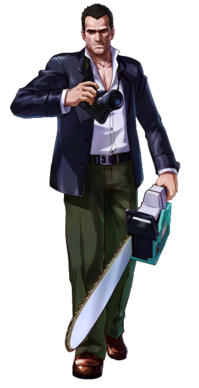 Frank West Project X Zone