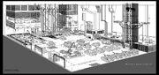 Military Base Interior Concept