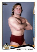 2014 WWE (Topps) Larry Zbyszko 105