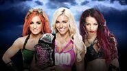 WM 32 Divas Triple Threat Match