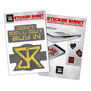 Seth Rollins Vinyl Sticker Sheet