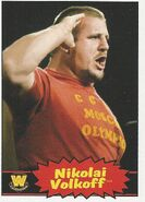 2012 WWE Heritage Trading Cards Nikolai Volkoff 94