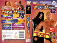WWF Wrestlemania XIII - Cover