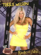2002 WWE Absolute Divas (Fleer) Torrie Wilson 92