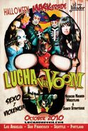 Lucha VaVoom Poster 25