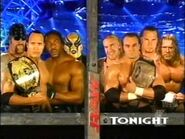 Booker T Goldust The Rock The Undertaker vs The Un-Americans