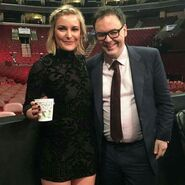 Renee Paquette reunited with Mauro Ranallo