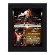 John Cena Night of Champions 2015 10.5 x 13 Photo Collage Plaque