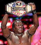 1st reign as united states champion r-truth