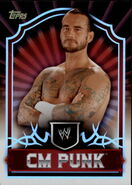 2011 Topps WWE Classic Wrestling CM Punk 12