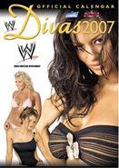 World Wrestling Divas Calendar 2007 WWE official calendar by Danilo