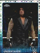 2015 Chrome WWE Wrestling Cards (Topps) Undertaker 74