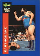 1991 WWF Classic Superstars Cards Earthquake 75