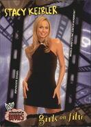 2002 WWE Absolute Divas (Fleer) Stacy Keibler 98