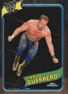 2008 WWE Heritage III Chrome Trading Cards Chavo Guerrero 49