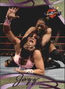 2004 WWE Divas 2005 (Fleer) Jazz 7