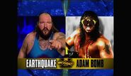 WrestleMania X - Earthquake v Bomb.00007